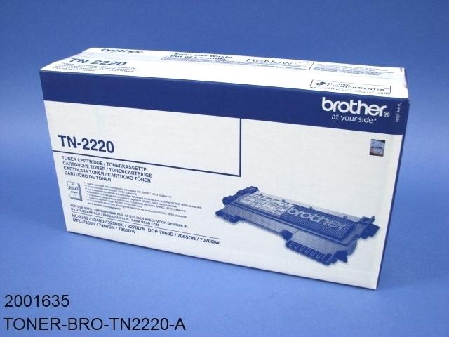 brother toner tn 2220 pharmatechnik webshop. Black Bedroom Furniture Sets. Home Design Ideas